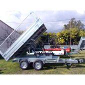 Remorque Benne Electrique PTAC 3T500
