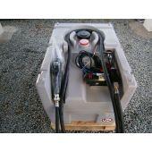 STATION fioul/gasoil autonome 200l pompe électrique