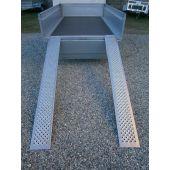 Rampe ALU 2 m 400 kg